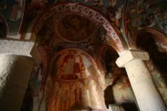 Finely decorated church cave