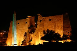 The magnificant Luxor Temple