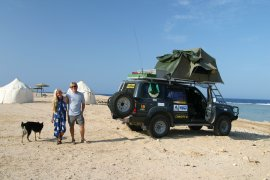 Beach Safari camp at Marsa Alam