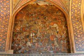 Karnal battle fresco