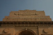 Inscription on the top of India Gate