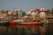 Dasaswamedh Ghat - one of the most central ghats to venture round