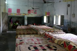 Dormitory accommodation for the girls at Udaan residential school
