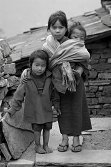 Nepalses mountain children