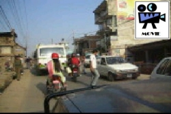 Driving in Kathmandu Video