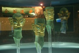 The mysterious bronze heads at Sanxingdui