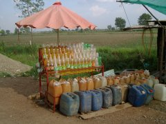 Cambodian Fuel Station