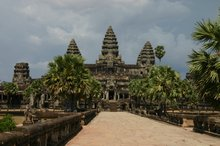 The infamous Angkor Wat