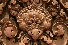 Intricate carvings of Banteay Srei, make this a highlight