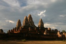 Pre Rup shines in the evening light