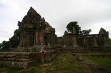 The peaceful mountain temple of Prasat Preah Vihear
