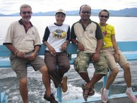 The Jungle Trekker team: Richard, Tuey, Youtth & Ae (left to right)