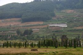 Agriculture on the Dieng Plateau