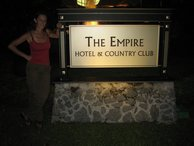 It's the Empire Hotel don't you know!
