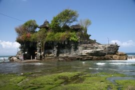 The temple at Tanah Lot