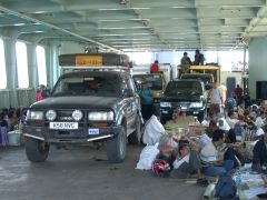 The Flores-Timor ferry, pretty busy