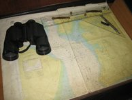 Maps and binoculars - all you need for a safe crossing