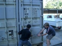 Sealing the container, do not open until Darwin! Now, where's my hat?