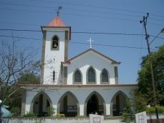Church in Dili, nice except...