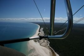 Fraser Island seen from the air