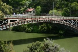 Bridge at entrance of Cataract Gorge