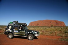 We make it to Uluru
