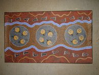 Our new pieces of Aboriginal art