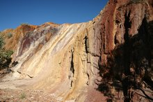 The colourful Ochre pits