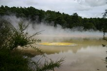 The multi colours of Wai-O-Tapu